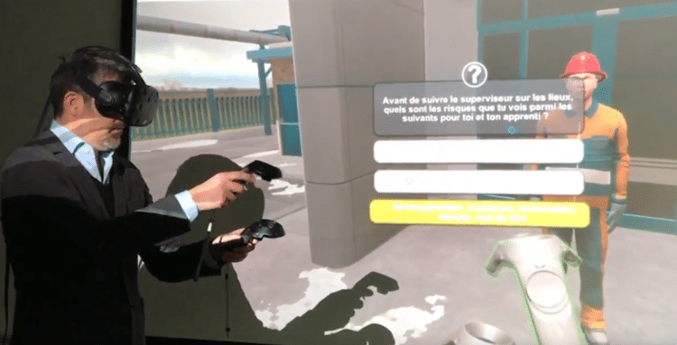 Quand la VR devient au service de la sécurité du travail