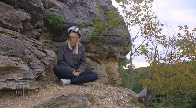 heal-ium l'outil de realité virtuelle pour une méditation interactive