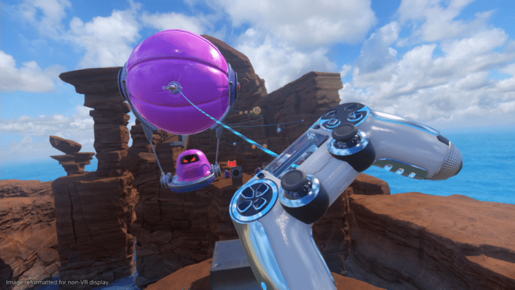 astro bot rescue mission graphismes