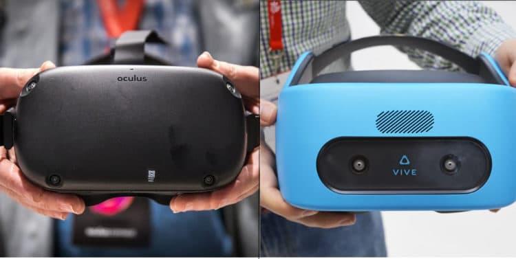 Oculus Quest - HTC Vive Focus