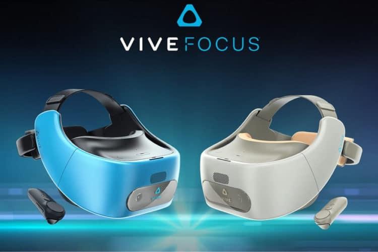 Réagir HTC Vive