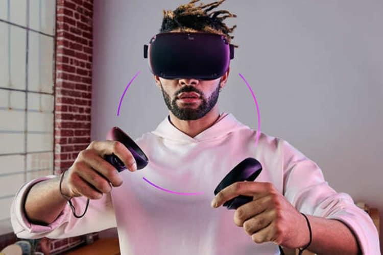 Réagir HTC Vive Focus Oculus Quest