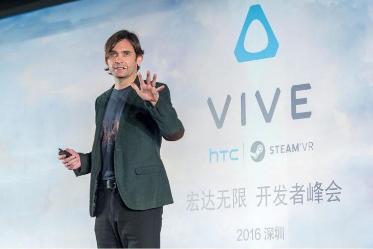 Réalité virtuelle console
