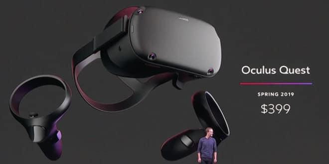 Ventilateur interne Oculus Quest système de refroidissement