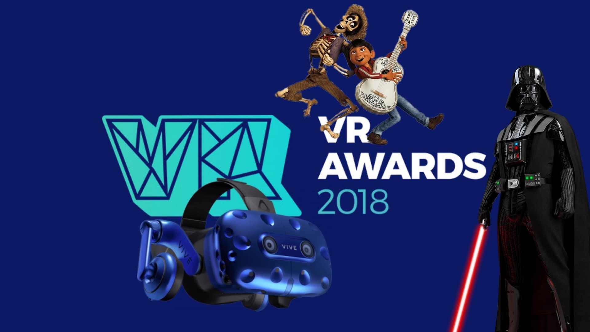 vr awards 2018 : voici les meilleurs jeux, films et casques vr de l