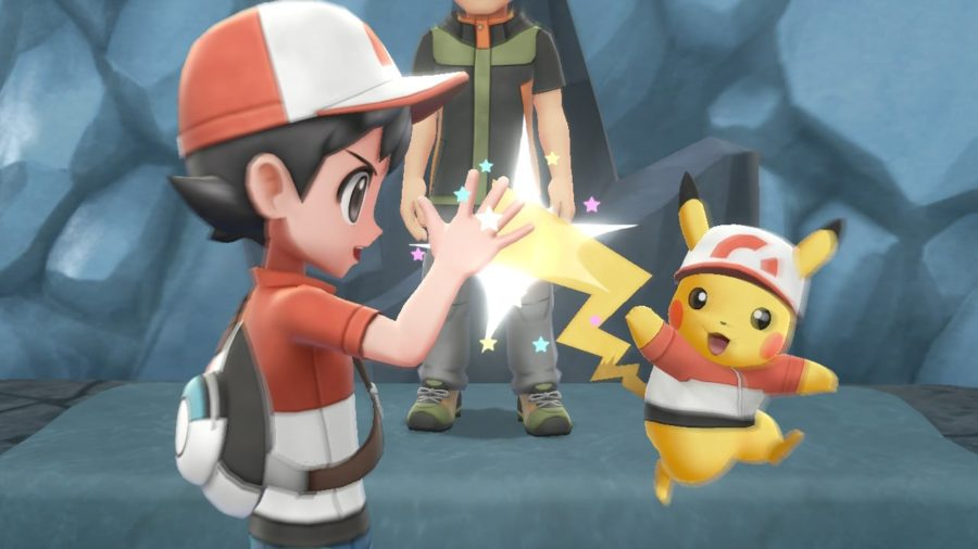pokemon let's go pikachu graphismes
