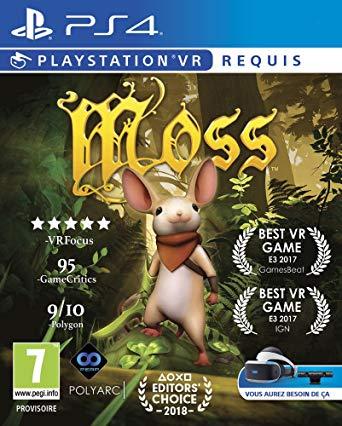 Moss VR le meilleur jeu VR est au prix de 24.99 pour le Black Friday