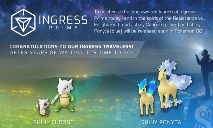 pokémon go shiny ingress prime