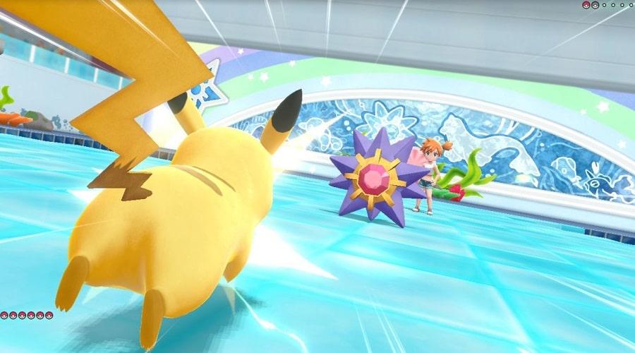 pokemon let's go combat