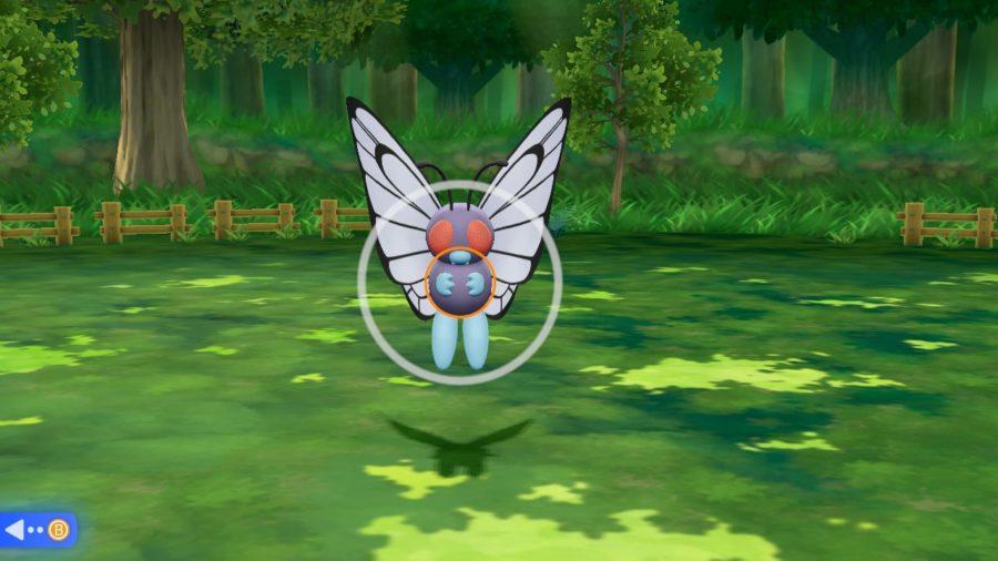 pokemon let's go evoli capture