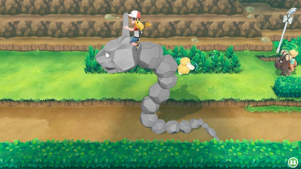 pokemon let's go graphismes