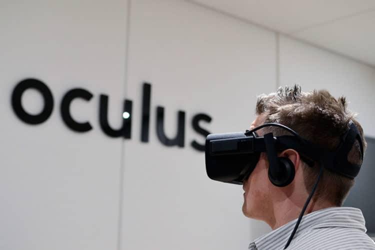 Réorganisation Oculus Facebook