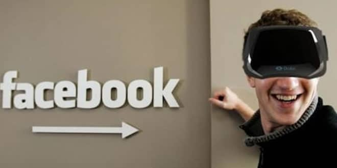 Réorganisation Oculus Facebook réalité virtuelle augmentée