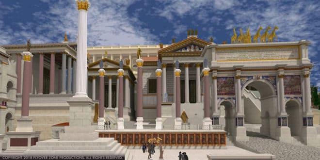 Rome antique réalité virtuelle