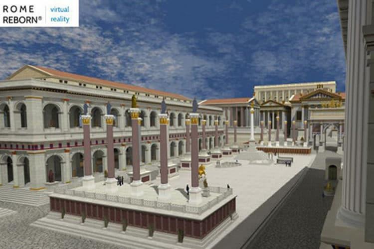 Rome antique VR reborn