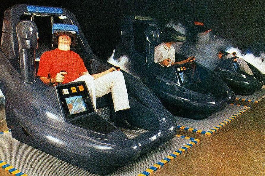 virtuality borne d'arcade