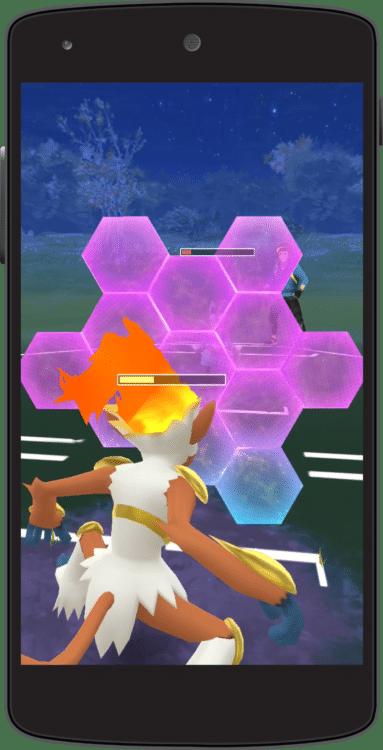 bouclier combat pokémon go