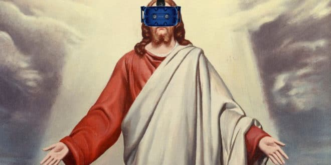 jesus vr htc vive film 7 miracles