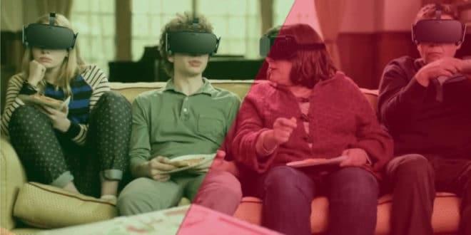 Réalité virtuelle entre amis jeux expériences