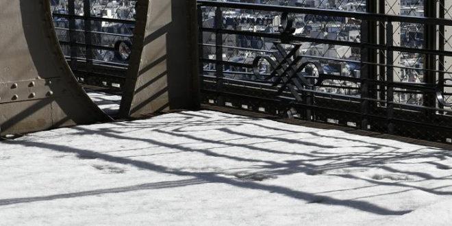 Ski en réalité virtuelle Tour Eiffel