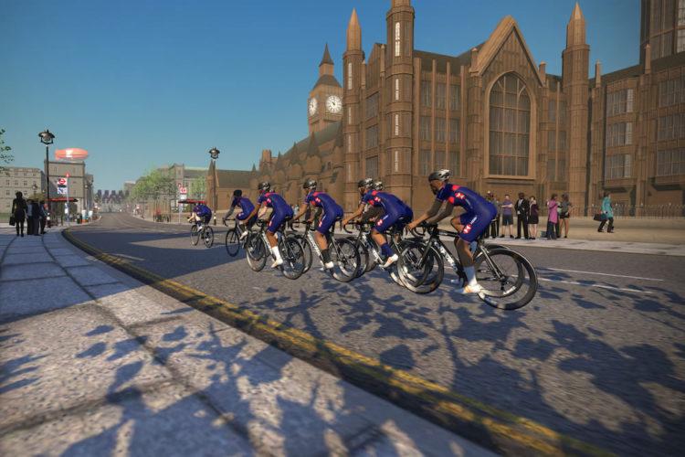 Vélo en réalité virtuelle