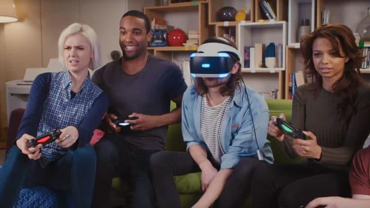 VR entre amis réalité virtuelle