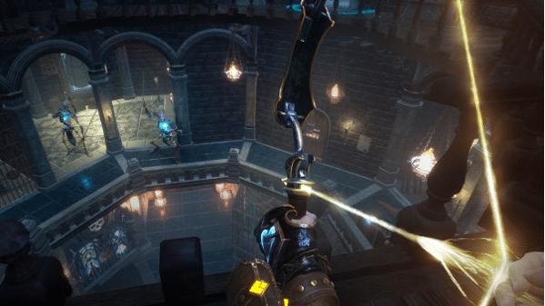 les armes dans witching tower sont intéressantes mais perfectibles