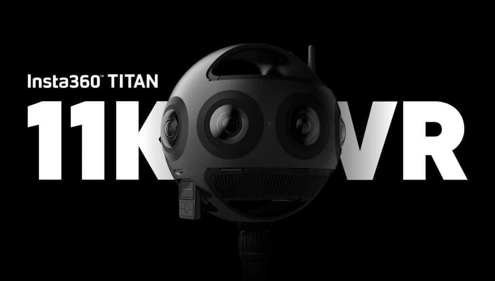 Insta360 caméra VR Titan 11 K