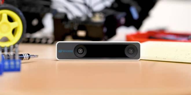 Caméra Intel réalité virtuelle