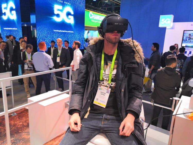ces 2019 qualcomm 5G VR