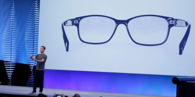 facebook lunettes ar