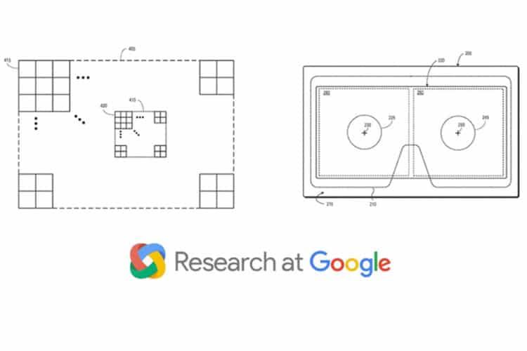 Google brevet compression fovéale