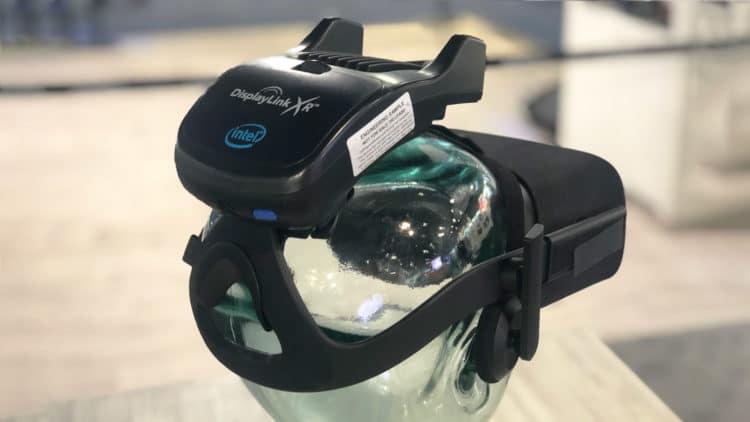 Oculus Rift adaptateur sans fil DisplayLink CES 2019