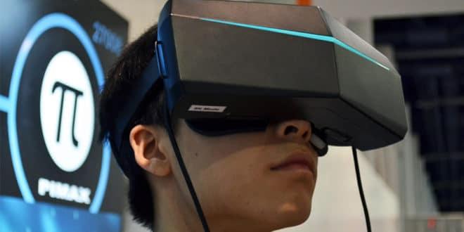 Livraisons casques réalité virtuelle Pimax 8K