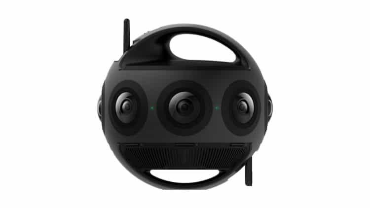 Titan caméra 360 degrés réalité virtuelle 11 K