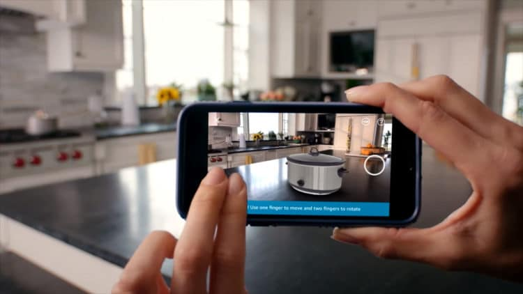 Apple Publicité AR VR