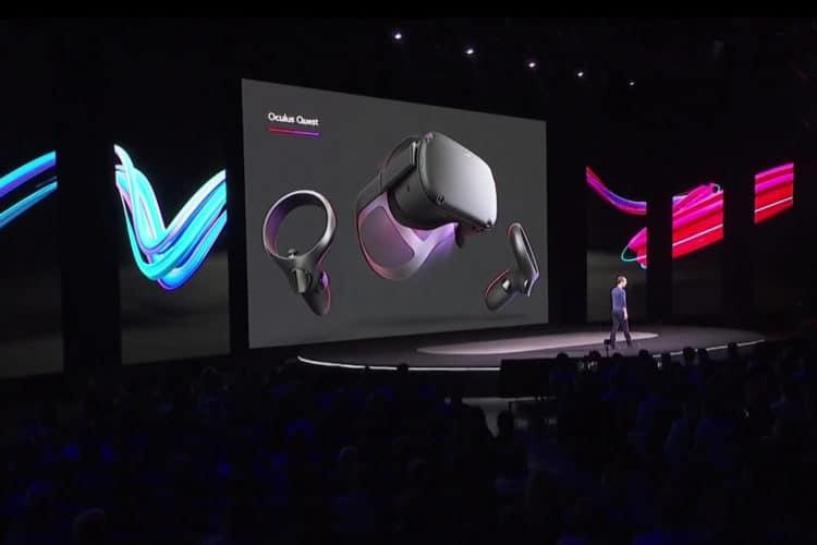 Facebook objectifs réalité virtuelle
