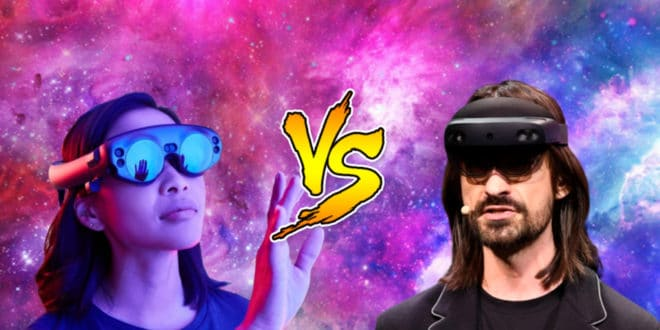 hololens 2 vs magic leap one