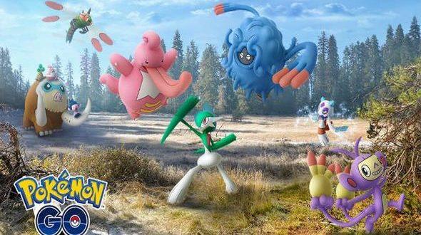 pokemon go génération 4
