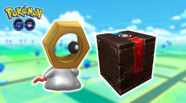pokémon go meltan shiny boite mystère