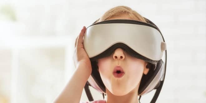 Réalité virtuelle santé plus jeunes enfants