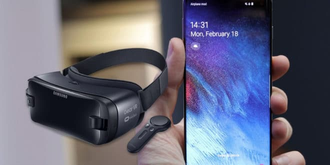 samsung galaxy S10 gear vr