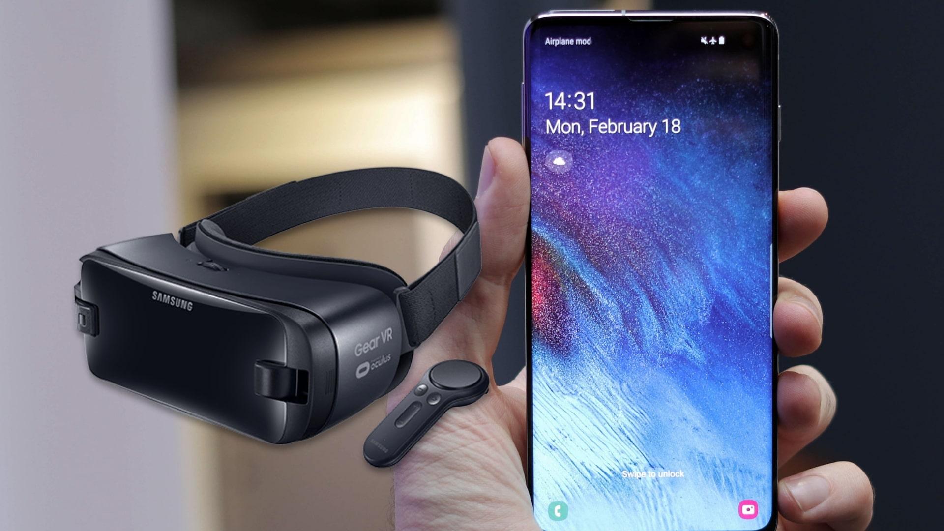 Le Samsung Galaxy S10 apporte la 5G et le HDR au Gear VR