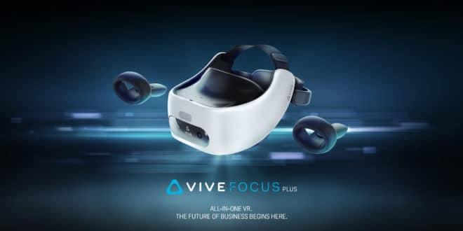 Vive Focus Plus casque autonome HTC