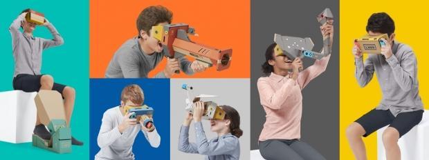 nintendo labo vr kit expériences réalité virtuelle