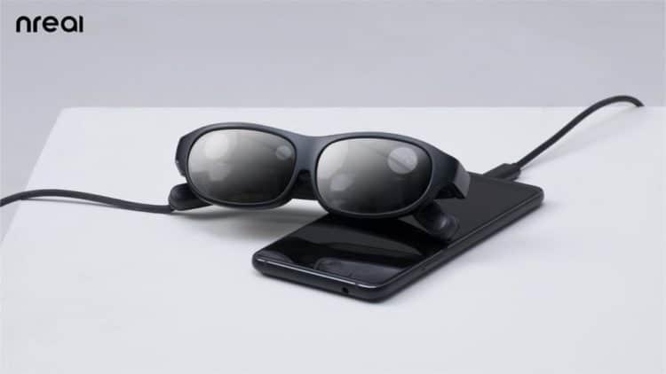 Nreal lunettes AR