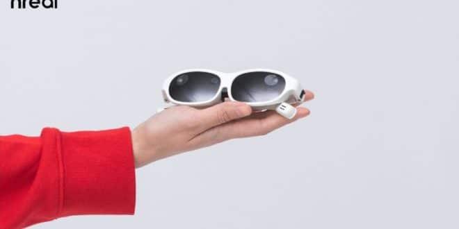 Nreal lunettes réalité augmentée