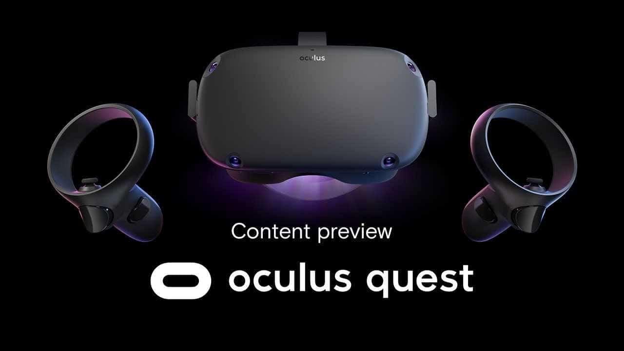 oculus quest content preview vidéo
