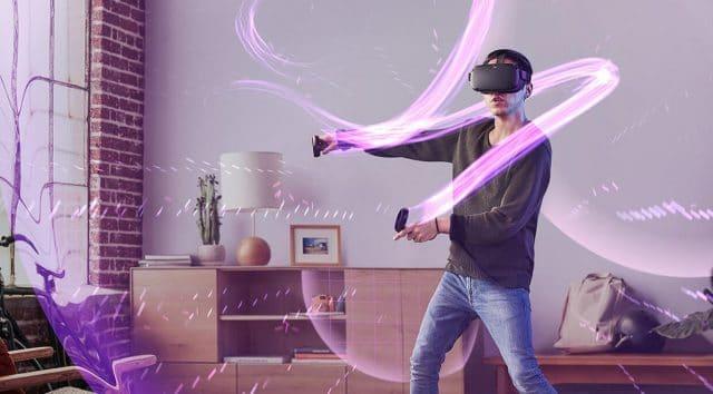 oculus quest plus puissant oculus go