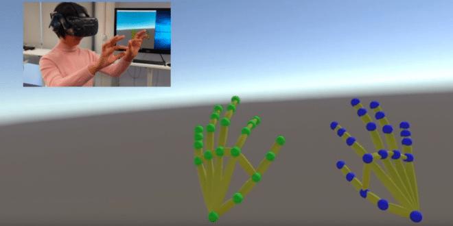 Suivi mouvement des doigts